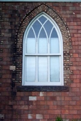 Haydenville United Methodist Church Window image. Click for full size.