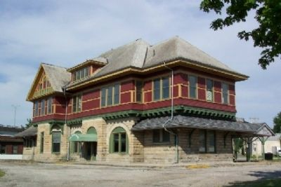 Big Four Depot (west facade) image. Click for full size.