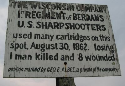 The Wisconsin Company Marker image. Click for full size.