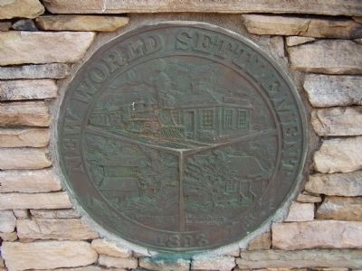 """Settlement"" Plaque image. Click for full size."