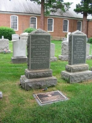 William Whann MacKall Grave and Marker image. Click for full size.
