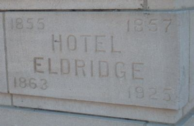 Free State Hotel Marker image. Click for full size.