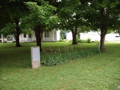 "Wide View - - "" Union Mill "" - Wabash Township Marker image. Click for full size."