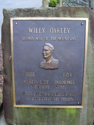 Wiley Oakley Marker image. Click for full size.