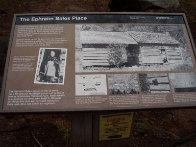 The Ephraim Bales Place Marker image. Click for full size.