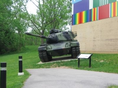 M60A3 Tank and Marker image. Click for full size.