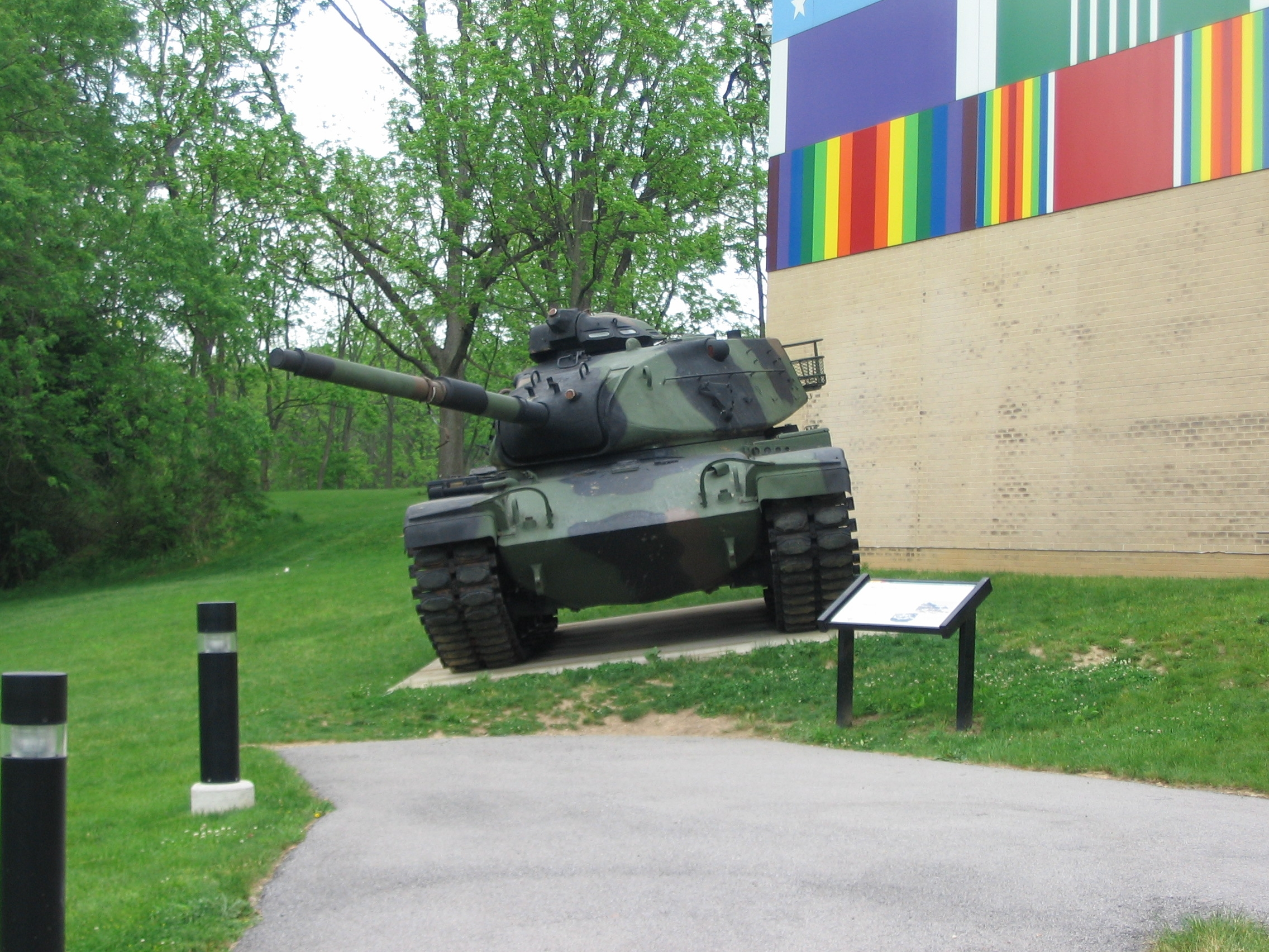 M60A3 Tank and Marker