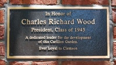 Charles Richard Wood Marker image. Click for full size.