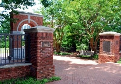 The Carillon Garden Entrance -<br>From Calhoun Drive image. Click for full size.