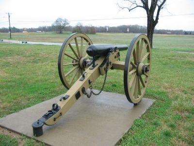 Replica 3-inch Rifle at Stop 3 image. Click for full size.