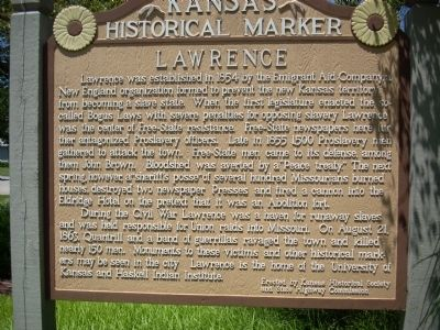 Lawrence Marker image. Click for full size.