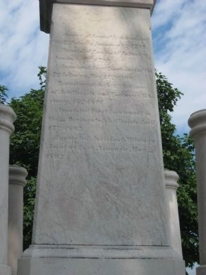 Left side of the Monument image. Click for full size.