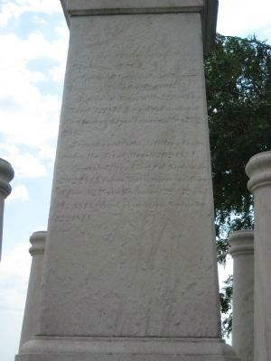Right Side of the Monument image. Click for full size.