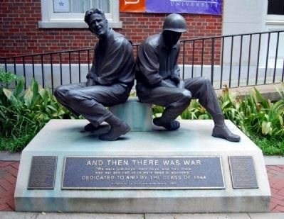 And Then There Was War Statue image. Click for full size.
