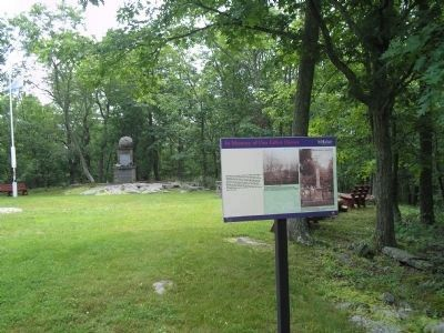 Marker in Minisink Battleground Park image. Click for full size.