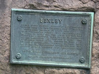 Bexley Marker image. Click for full size.