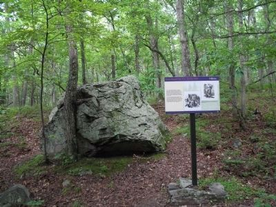 Marker and Sentinel Rock image. Click for full size.