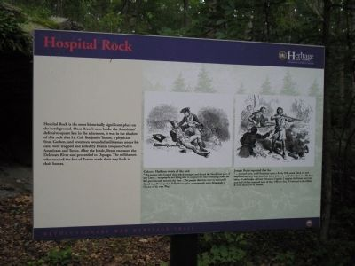 Hospital Rock Marker image. Click for full size.
