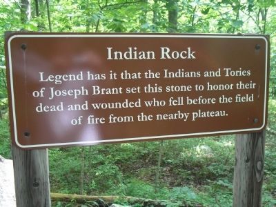 Indian Rock Marker image. Click for full size.