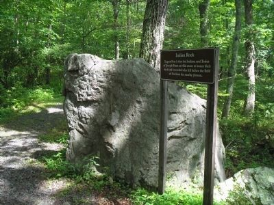 Marker along the Battleground Trail image. Click for full size.