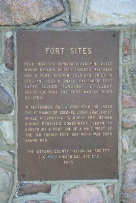 Fort Sites Marker image. Click for full size.
