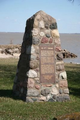 De Lery Portage Marker image. Click for full size.