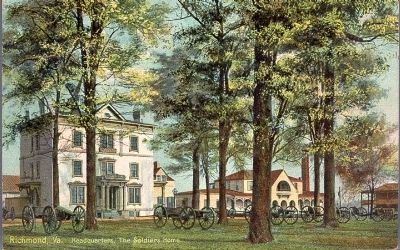 Headquarters, The Soldier's Home, Richmond, Va. image. Click for full size.