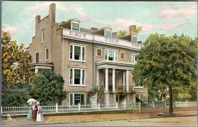 Van Lew House, Richmond, Va. image. Click for full size.