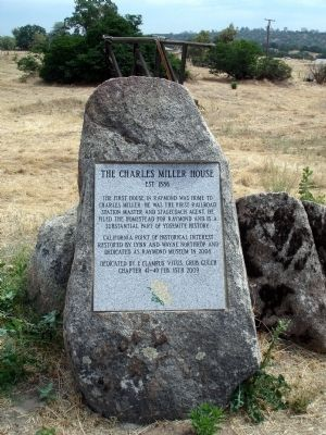 The Charles Miller House Marker image. Click for full size.