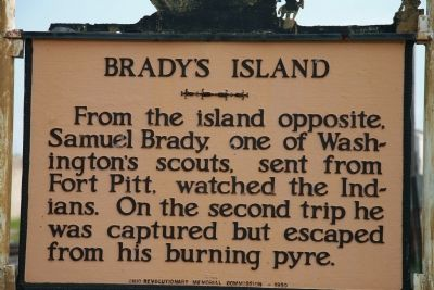 Brady's Island Marker image. Click for full size.