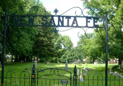 Photo of New Santa Fe Cemetery image. Click for full size.