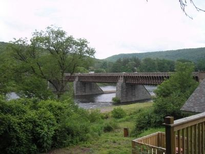 Delaware Aqueduct image. Click for full size.