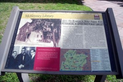 McKenney Library Marker image. Click for full size.