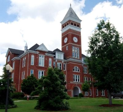 Tillman Hall (1893)<br>Clemson University Historic District #1 image. Click for full size.