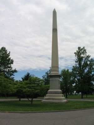 Philadelphia Brigade Monument image. Click for full size.