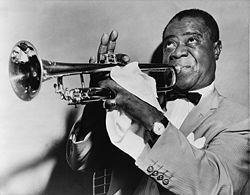 Louis Armstrong image. Click for full size.