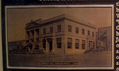 Photo on Marker - Prescott National Bank image. Click for full size.