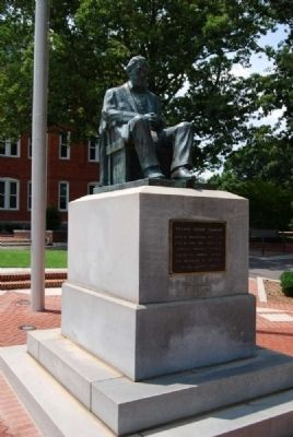 Thomas Green Statue<br>Infront of Tillman Hall image. Click for full size.