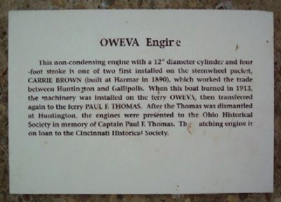 OWEVA Engine Marker image. Click for full size.