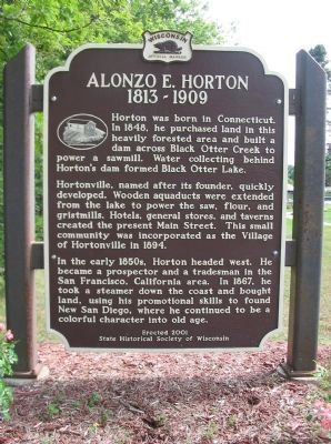 Alonzo E. Horton Marker image. Click for full size.