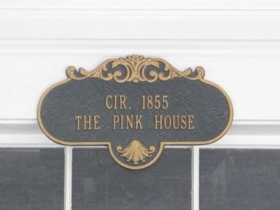 Circa 1855 - The Pink House image. Click for full size.