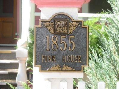 1855 - Pink House image. Click for full size.