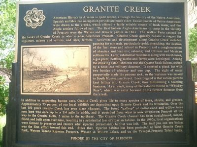 Granite Creek Marker image. Click for full size.