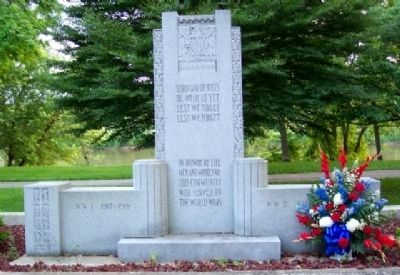 Washington County Veterans Memorial image. Click for full size.