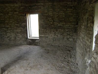 Interior of the Sod House image. Click for full size.