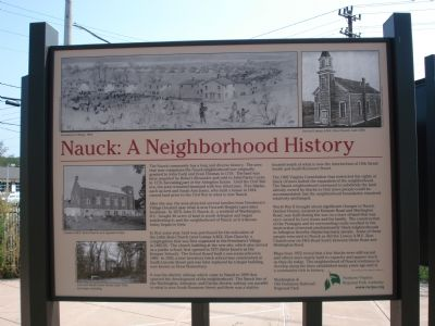 Nauck: A Neighorhood History Marker image. Click for full size.