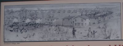 Freedman's Village, 1864. image. Click for full size.