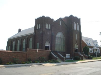 Lomax A.M.E. Zion Church as it appears today image. Click for full size.