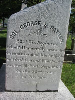 George Patton Grave image. Click for full size.