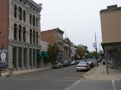 Downtown Vincennes image. Click for full size.